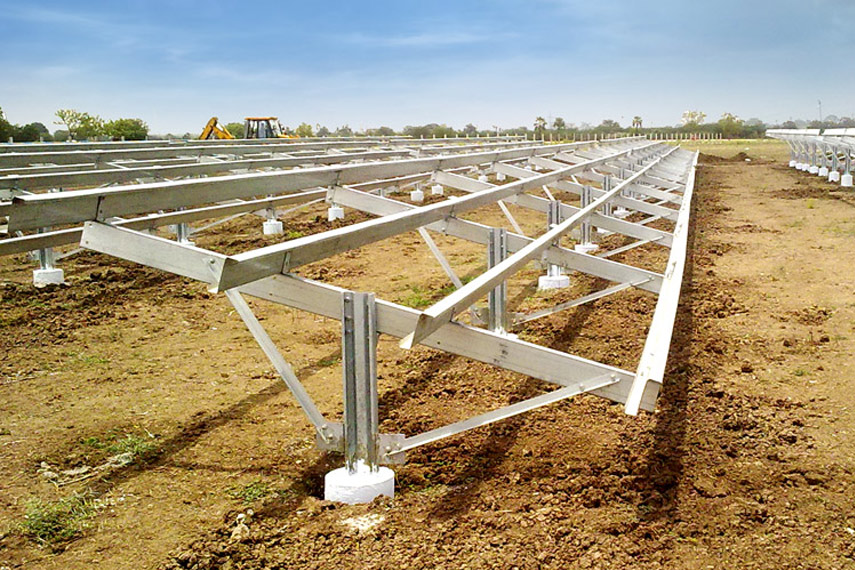 Solar Structures |cold galvanized coating